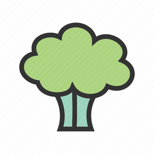 broccoli, food, green, healthy, natural, spinach, vegetable icon
