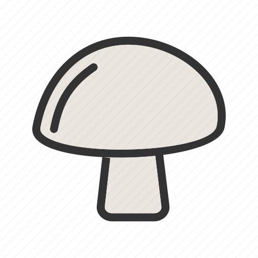 eating, food, fresh, health, healthy, meal, mushroom icon