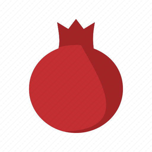 diet, food, fruit, healthy, juicy, pomegranate, red icon