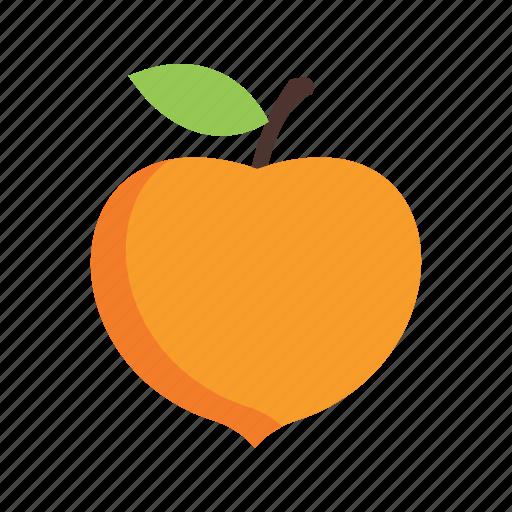 food, fresh, fruit, organic, peach, peaches, sweet icon