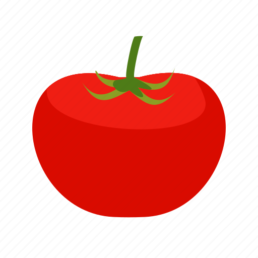 fresh, green, organic, red, tomatoes, vegetable, vegetarian icon