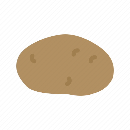 brown, food, fresh, health, healthy, organic, potatoes icon