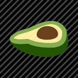 avocado, brown, food, fresh, fruit, green, healthy icon