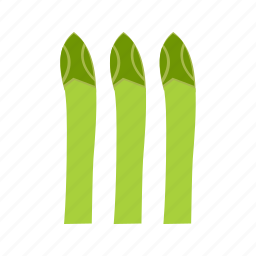 asparagus, bunch, diet, food, fresh, green, meal icon