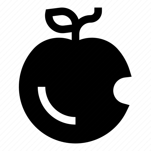 apple, eated, energy, food, fruit, fruits, ingredient icon