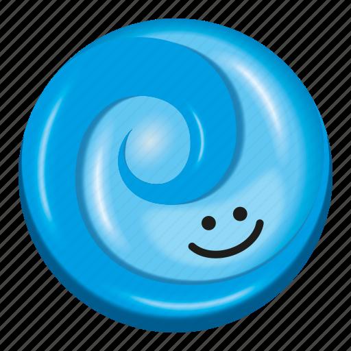 blue, candy, gum, lollipop, two tone icon