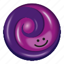 candy, grape, lollipop, purple, two tone icon