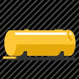 bullet, fluid, fuel, gas, oil, tank, water icon