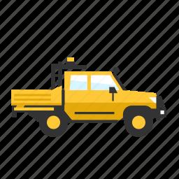 all terain, car, light, off road, service, truck icon