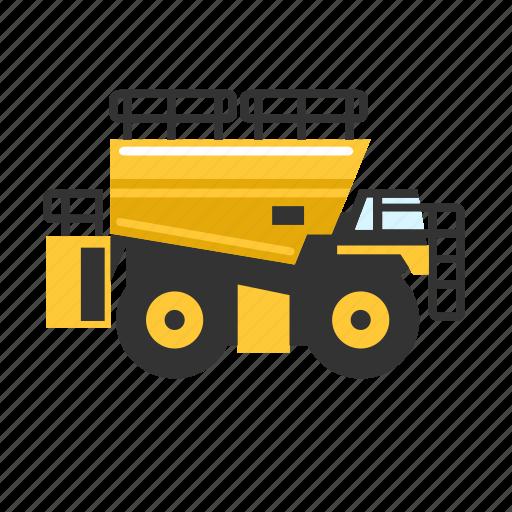 fuel, heavy, mining, service, truck, ultra icon