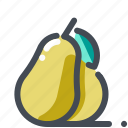 dessert, food, fruit, healthy, natural, organic, tropical icon