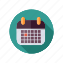 business, calendar icon