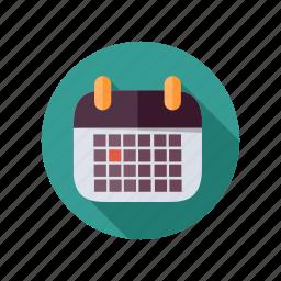 business, calendar icon