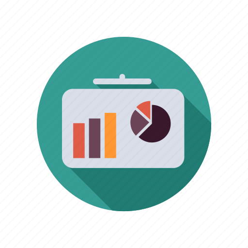analytics, business, chart, diagram, financial, graph, office, statistics icon