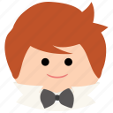 bowtie, char, event, male, man, wedding icon
