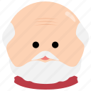 beard, char, elderly, grandfather, male, man, mustache icon