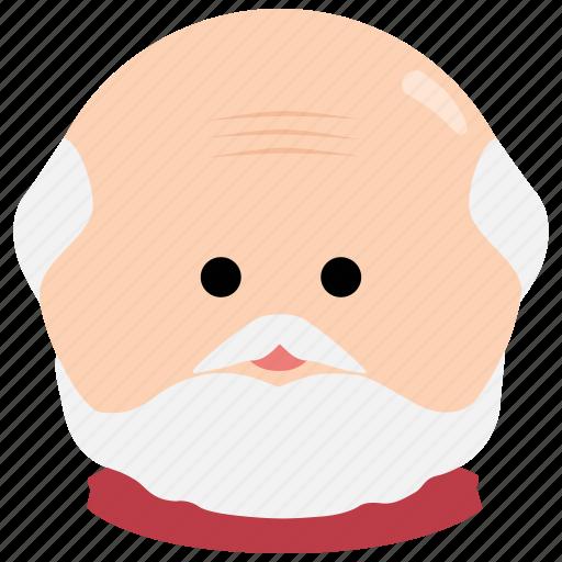 beard, char, elderly, grandfather, male, man, mustache icon