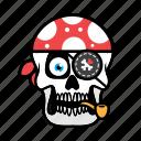 avatar, halloween, face, pirate, skull