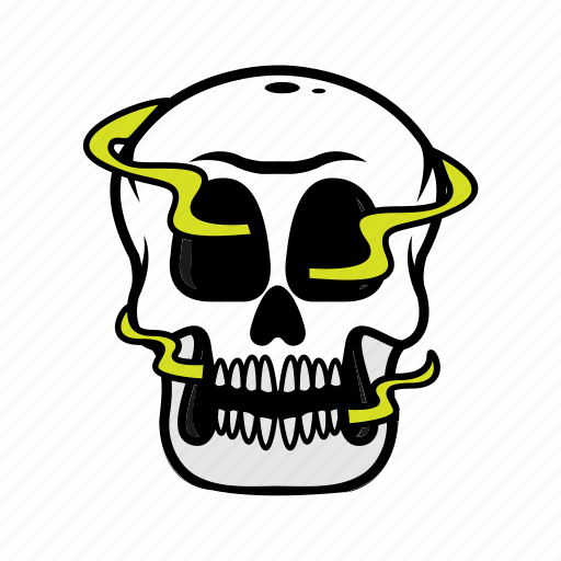 avatar, halloween, skull, smoke, toxic icon