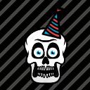 avatar, halloween, birthday, face, skull