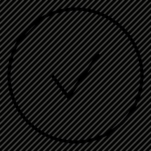 app, browser, check, checkmark, confirm icon