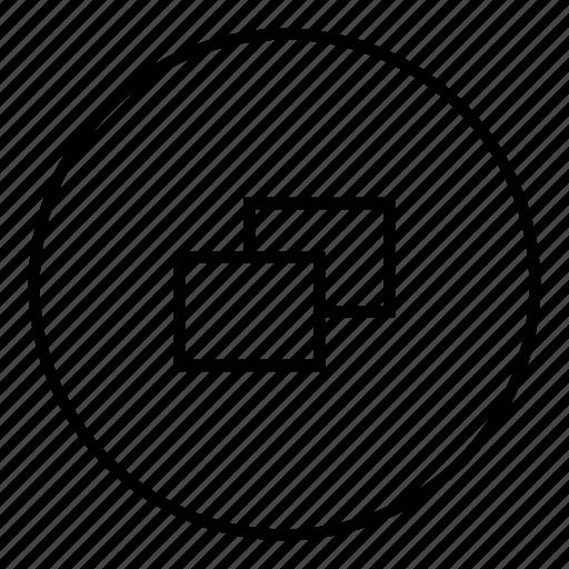 app, browser, restore icon