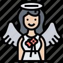 peace, angel, goddess, heaven, grace icon