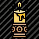 candle, decoration, funeral, light, spiritual