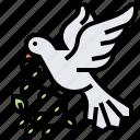 dove, faith, heaven, peaceful, spirit