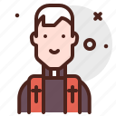 priest, burial, event
