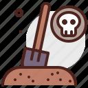 shovel, burial, event