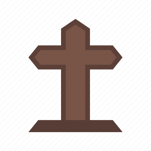 ancient, cemetery, cross, death, grave, graveyard, tombstone icon