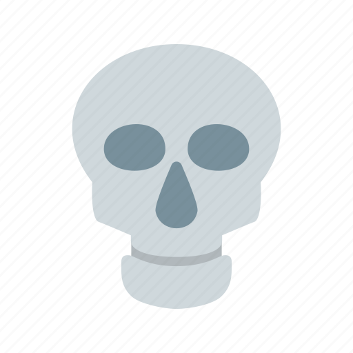 dead, face, head, human, skeleton, skull, teeth icon
