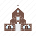 building, cathedral, catholic, christian, church, historic, religion icon