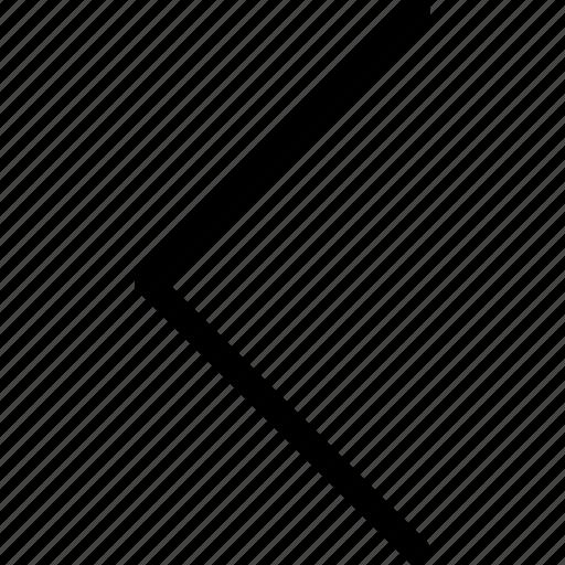 arrow, back, left, sign, upload icon