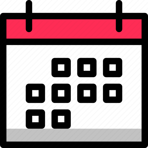 calendar, day, interface, month, valentine icon