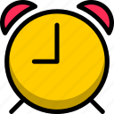 alarm, attention, danger, schedule, sign, warning icon