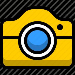 camera, media, movie, photography icon