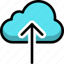 cloud, cloudy, direction, down, rain, up icon