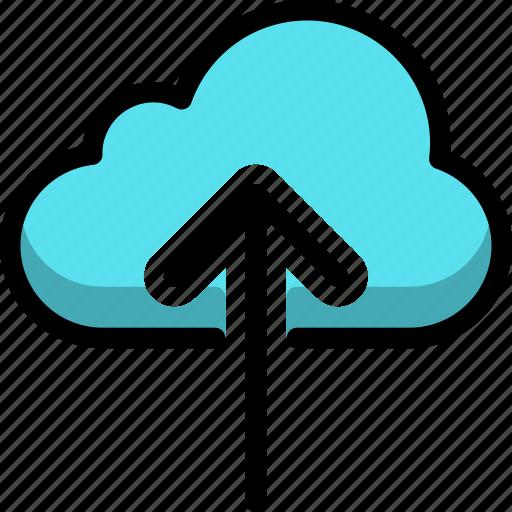 cloud, cloudy, direction, down, rain, up icon
