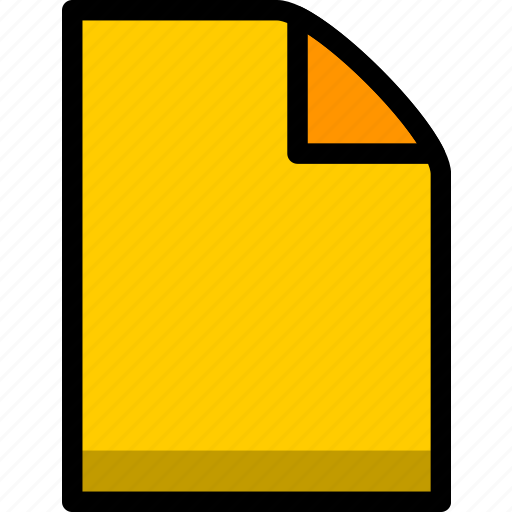 data, document, files, page, sheet, text, type icon