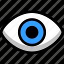 eye, face, human, makeup, people icon