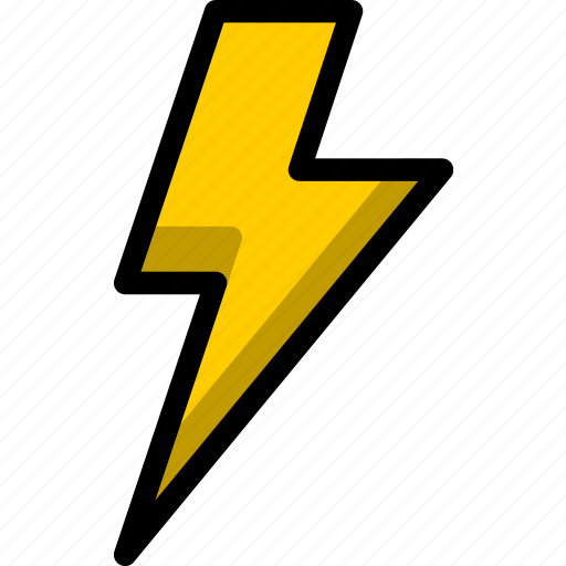 bolt, charge, electricity, lamp, lightning, weather icon