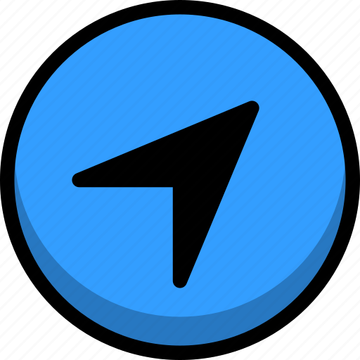 arrow, flag, location, nation, pointer icon