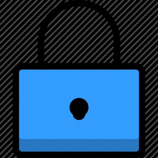 access, key, locked, padlock, privacy, safety icon