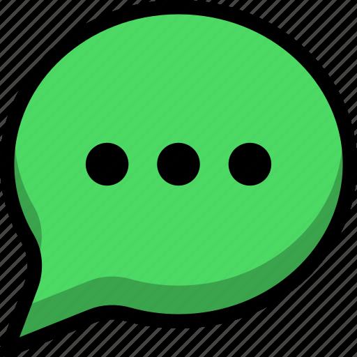 comment, conversation, message, speech, text icon