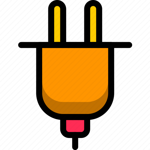 charge, electrical, plug, socket, space icon
