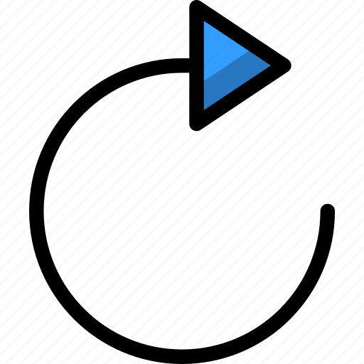 garbage, loading, recycle, refresh, rotate icon