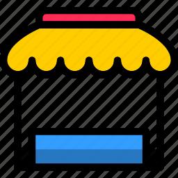 basket, ecommerce, store, storefront icon