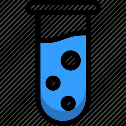 beaker, chemical, equipment, medical, test, tube icon